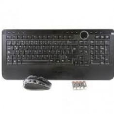 Kit Tastatura + Mouse DELL, model: Y-RBP-DEL4, layout: ITA, NEGRU, USB, WIRELESS, MULTIMEDIA