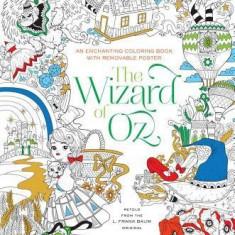 The Wizard of Oz Coloring Book - Carte de colorat