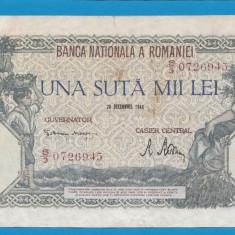 100000 lei 1946 20 decembrie 16 - Bancnota romaneasca