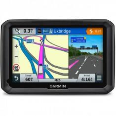 Navigator GPS Garmin Dezl 770 LMT + harta Europa completa + update gratuit al hartilor pe viata + Cablu Garmin FMI45, 7 inch, Toata Europa, Lifetime
