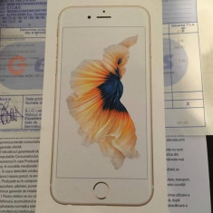 Iphone 6s gold 64GB - Telefon iPhone Apple, Auriu, Neblocat