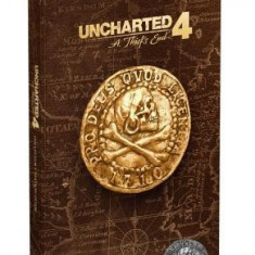 Uncharted 4: A Thief's End Collector's Edition Strategy Guide - Carte in engleza
