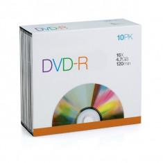 Blank DVD-R SPACER 10PACK; 4.7GB; 16X; bulk
