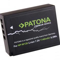 PATONA Premium | Acumulator compatibil Fuji NP-W126 NP W126 - Baterie Aparat foto PATONA, Dedicat