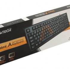 Tastatura A4TECH; model: KRS-85-USB; layout: US; NEGRU; USB;