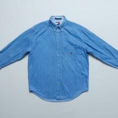 Camasa blugi Tommy Hilfiger Jeans; marime M, vezi dimensiuni;impecabila, ca noua - Camasa barbati, Marime: M, Culoare: Din imagine