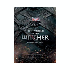 The World of the Witcher - Carte in engleza