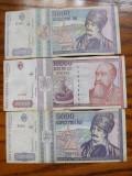 Romania  Lot  Bancnote  10000 Lei/1994; 5000 lei/1992; 5000 Lei/1993