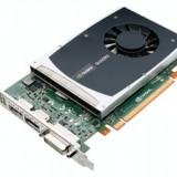 Placa video: NVIDIA QUADRO 2000; 1024 MB DDR5; 128-bit; PCI-E 16X; DVI-D; 2 x DISPLAY PORT; SH