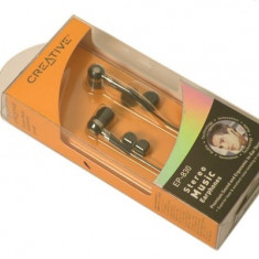 CASCA CREATIVE; model: EP-830; NEGRU; in-ear;