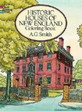 Historic Houses of New England Coloring Book, Mark Twain