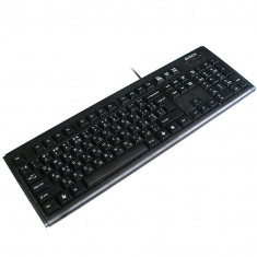 Tastatura A4TECH; model: KM-720; layout: US; NEGRU; PS/2