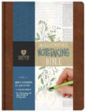 HCSB Illustrator's Notetaking Bible, British Tan, Leathertouch