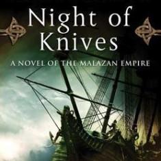 Night of Knives - Carte in engleza