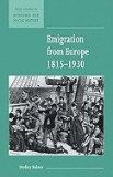 Emigration from Europe 1815 1930