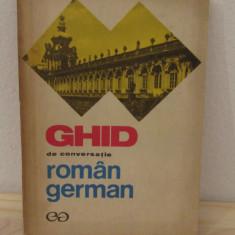 GHID DE CONVERSATIE ROMAN -GERMAN - Ilse Chivaran-Muller, Liane Bidian
