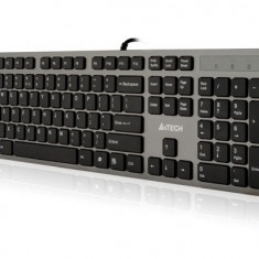 Tastatura A4TECH; model: KV-300H; layout: US; NEGRU/GRI; USB