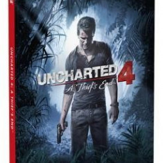Uncharted 4: A Thief's End Standard Edition Strategy Guide - Carte in engleza