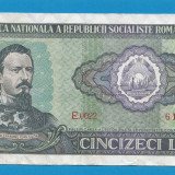 50 lei 1966 9 - Bancnota romaneasca