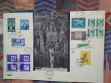 1958/60 Plic Expozitia Filatelica Internationala Bucuresti RARA