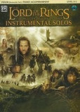 The Lord of the Rings Instrumental Solos for Strings: Violin (with Piano Acc.), Book & CD [With CD (Audio)]