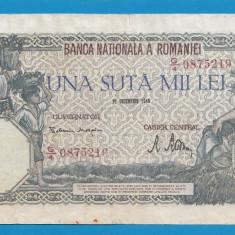 100000 lei 1946 20 decembrie 17 - Bancnota romaneasca