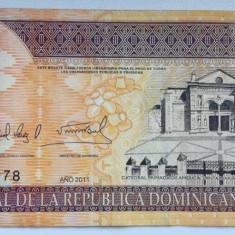 Bancnota 50 pesos 2011 Republica Dominicana bancnote straine numismatica