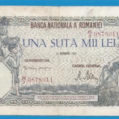 100000 lei 1946 21 Octombrie 11 - Bancnota romaneasca