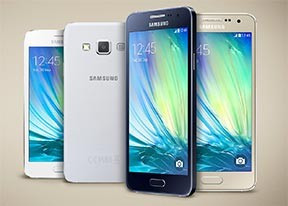 Samsung Galaxy A300FD Dual Sim Black/White Sigilat Nou foto