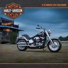 Harley Davidson Wall Calendar - Carte in engleza