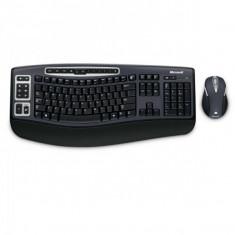 Kit Tastatura + Mouse MICROSOFT; model: DESKTOP 5000; layout: US; NEGRU; USB; WIRELESS; MULTIMEDIA