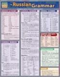 Russian Grammar Laminate Reference Chart