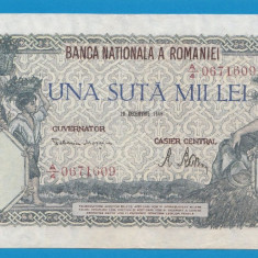 100000 lei 1946 20 decembrie 10 - Bancnota romaneasca