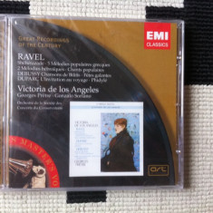 Maurice Ravel Henri Duparc Claude Debussy cd disc Muzica Clasica emi records sigilat nou emi