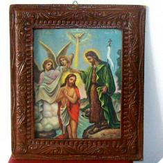 Icoana litografiata veche - Icoana litografiate