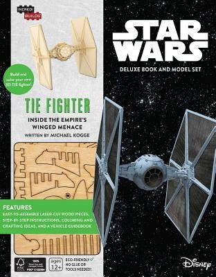 Incredibuilds: Star Wars: Tie Fighter Deluxe Book and Model Set foto mare