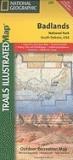 Badlands National Park: South Dakota, USA Outdoor Recreation Map