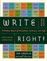 Write Right!: A Desktop Digest of Punctuation, Grammar, and Style, 4th Edition foto mare