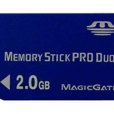 PRO DUO CARD SILICON POWER; model: SP002GBMPD; capacitate: 2 GB; culoare: ALBASTRU - Card Memory Stick Pro Duo