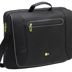 Geanta laptop Messenger 17'', black/green
