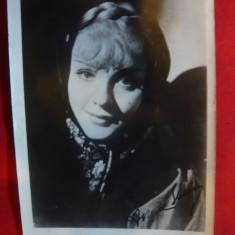 Fotografia actritei Anna Stein cu autograf