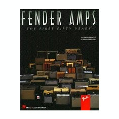 Fender Amps: The First Fifty Years - Carte in engleza