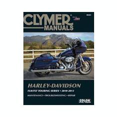 Harley-Davidson Flh/Flt Touring Series 2010-2013 - Carte in engleza