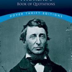 Thoreau: A Book of Quotations - Carte in engleza