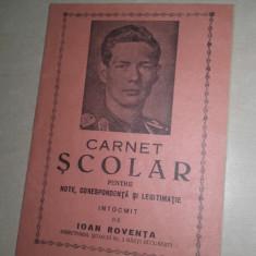 CARNET SCOLAR, PORTRET REGAL - Diploma/Certificat
