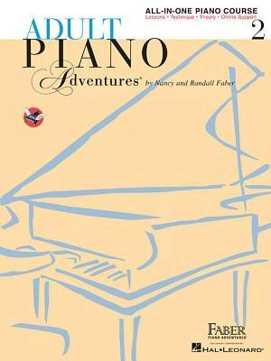 Adult Piano Adventures All-In-One Lesson Book 2: A Comprehensive Piano Course foto