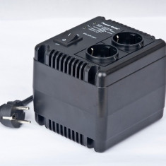 UPS GEMBIRD; model: EG-AVR-0801 800VA; format: TOWER; iesiri: 2; fara baterii; stare: NOU