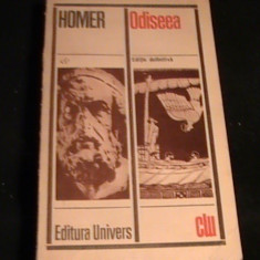 ODISEEA-HOMER-362 PG- - Carte mitologie