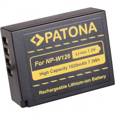 PATONA | Acumulator compatibil Fuji NP-W126 NP W126, Dedicat