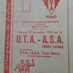 Program UTA - ASA Tg. Mures - Program meci